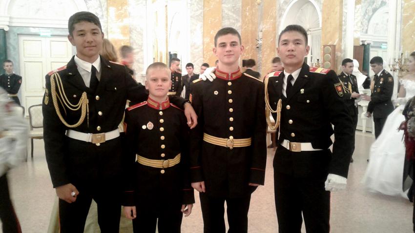 С киргизскими кадетами