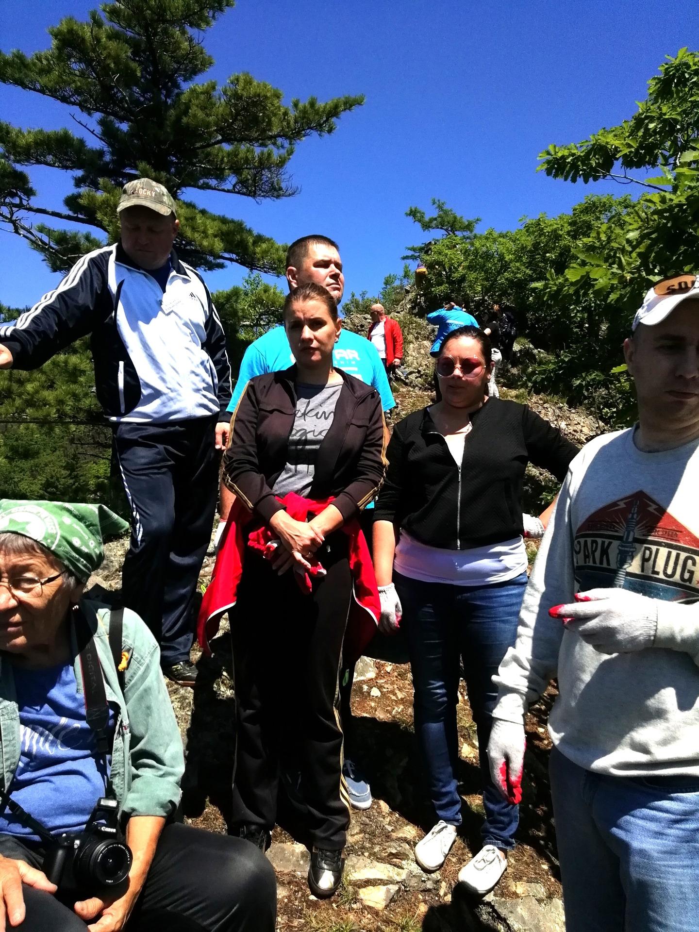 В мероприятии участвовали туристы со всего Приморского края