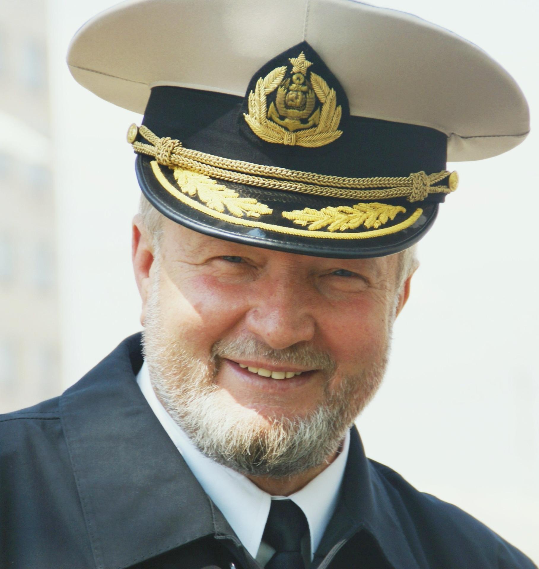 Капитан «Командора Беринга» В.Ф. Гаманов