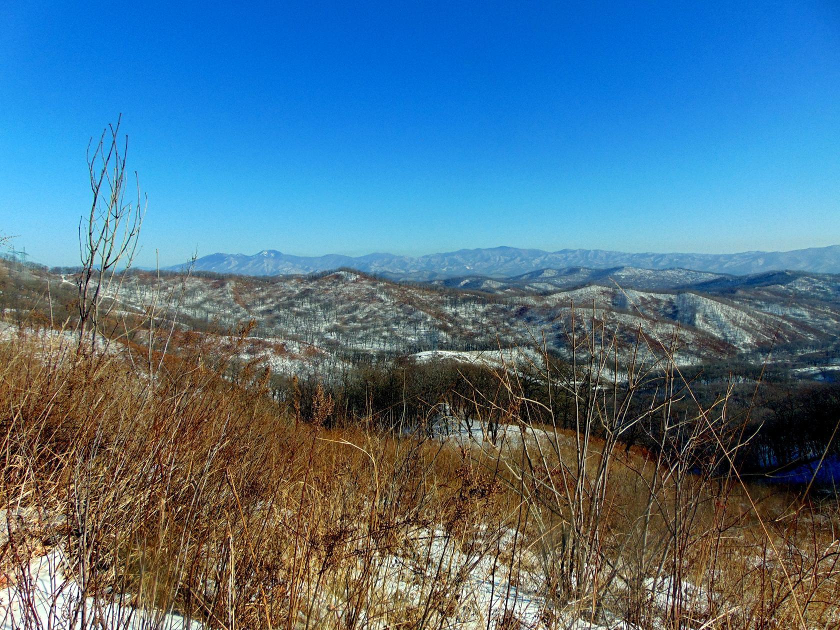 Горная страна. Вид с вершины Чандалаза. Фото Натальи Аграфениной