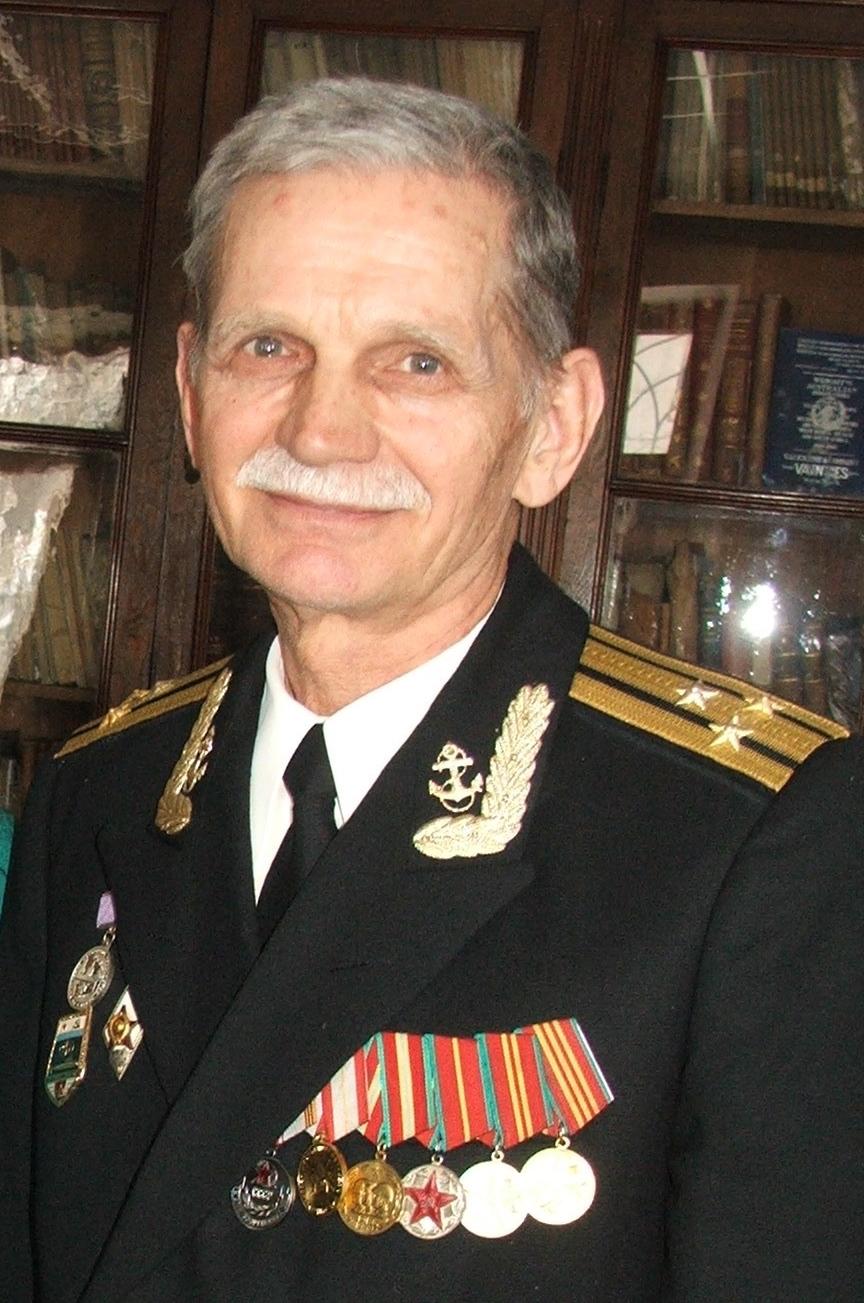 Капитан 1 ранга Валерий Кулешов