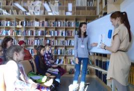 Детская библиотека: взрослый разговор