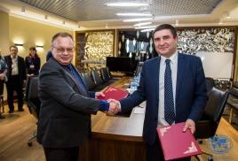 Договор о сотрудничестве между ПКО РГО – ОИАК и Научно-образовательным комплексом «Приморский океанариум»