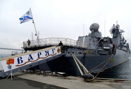 Экскурсия на ракетный крейсер «Варяг»