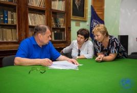 Рабочая встреча по мероприятиям, связанным со 145-летием со дня рождения В.К. Арсеньева.