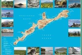 Новая карта острова Итуруп