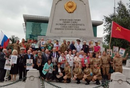 В Харбине отметили 73 годовщину окончания второй мировой войны