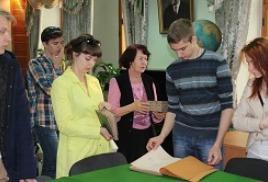 Студенты-географы в Обществе изучения Амурского края
