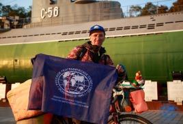 Одиночная велоэкспедиция Удмуртия – Владивосток под флагом РГО!