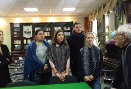 Молодые художники в Обществе изучения Амурского края