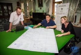 Рабочая встреча по работе над документальным фильмом о подводных исследованиях ОИАК