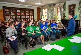 Молодежный клуб РГО – ОИАК прирос новыми активистами