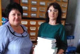ОИАК пополнил библиотечные фонды Чугуевского района