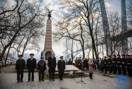 120-летие памятника адмиралу Г.И. Невельскому